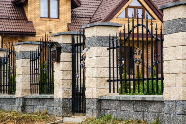 Ogrodzenie łupane Białystok jasne