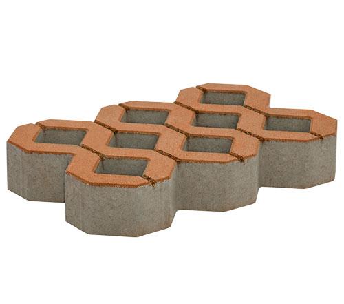Płyta ażurowa brązowa z betonu Białystok