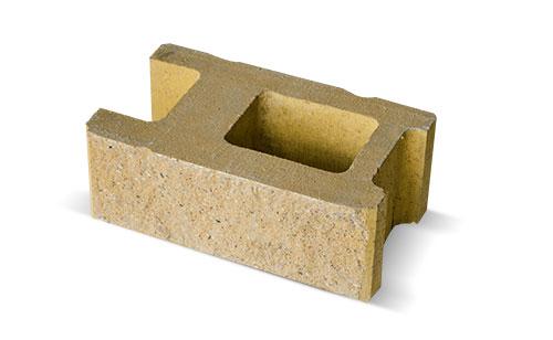 Żółty bloczek betonowy z Białegostoku
