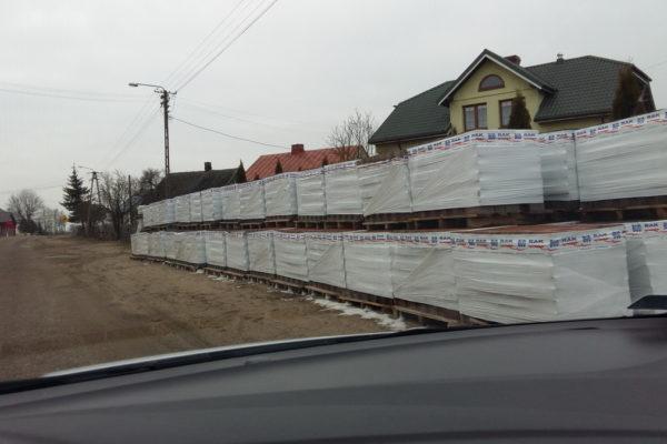 Palety z kostką brukową dekoracyjną Białystok