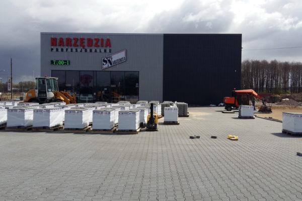 Profesjonalny sklep z narzędziami i kostka brukowa Białystok