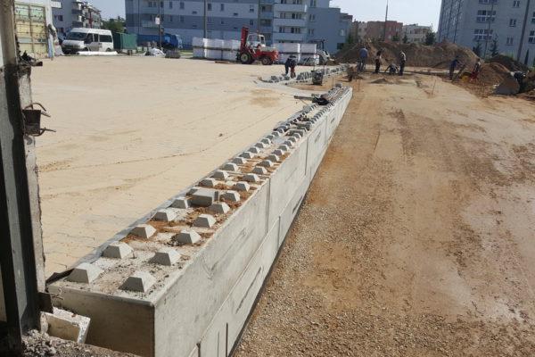 Beton bloki przy realizacji FSO Białystok