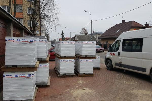 Kostka brukowa przed domem w Białystok