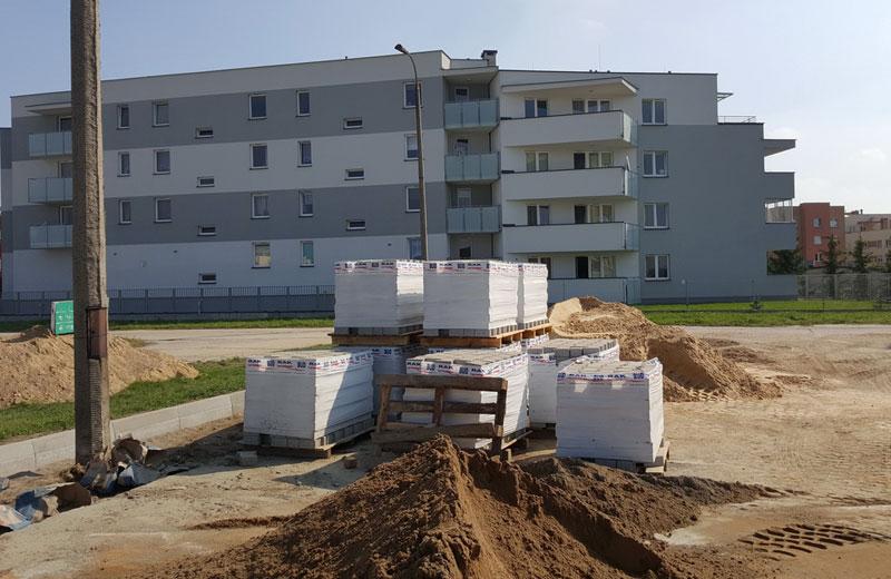 Budowa FSO, budynek w Białymstoku