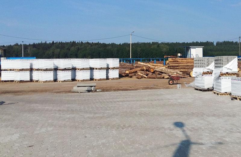 Wyroby betonowe, Tartak w Królowym Moście k/Białegostoku