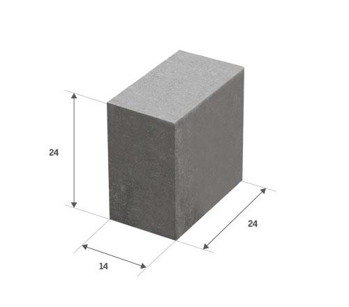 Bloczek betonowy mały Białystok