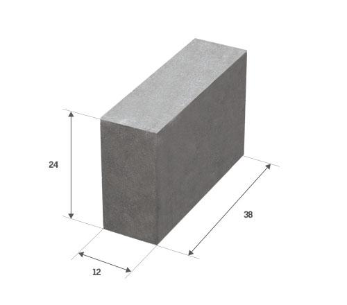 Bloczek betonowy szary Białystok